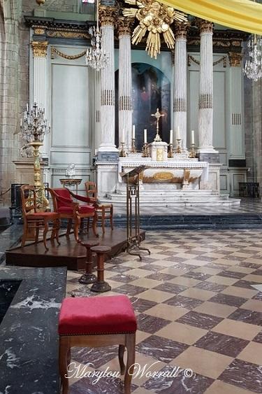 Bretagne : Rennes église Saint-Germain