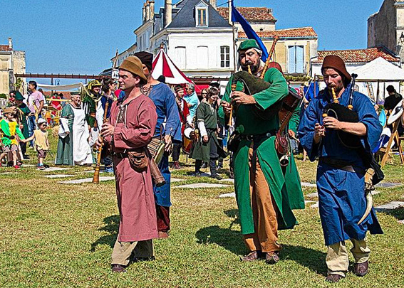 Fêtes de la St Jacques à Pons 2016