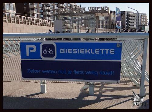 La plage de Scheveningen à Den Haag
