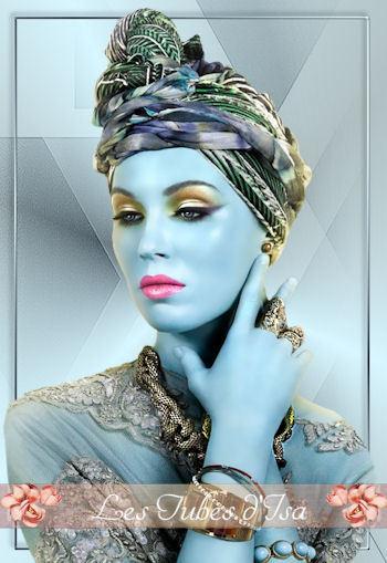 FAC0091 - Tube femme chapeau