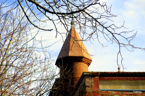 Ramonville 31: le parc et le château