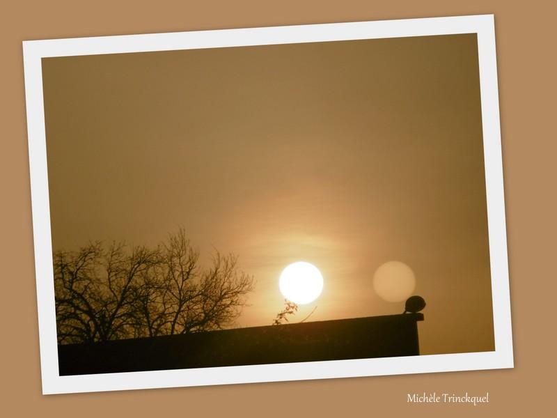 Le ciel au matin du 20 mars....