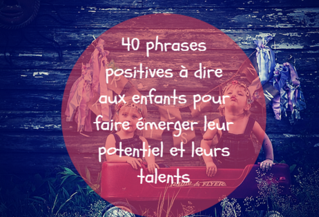 40 phrases positives