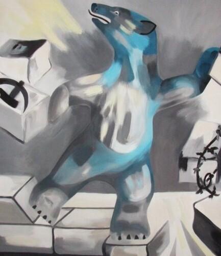 ojeda emmanuelle peinture chute du mur de berlin