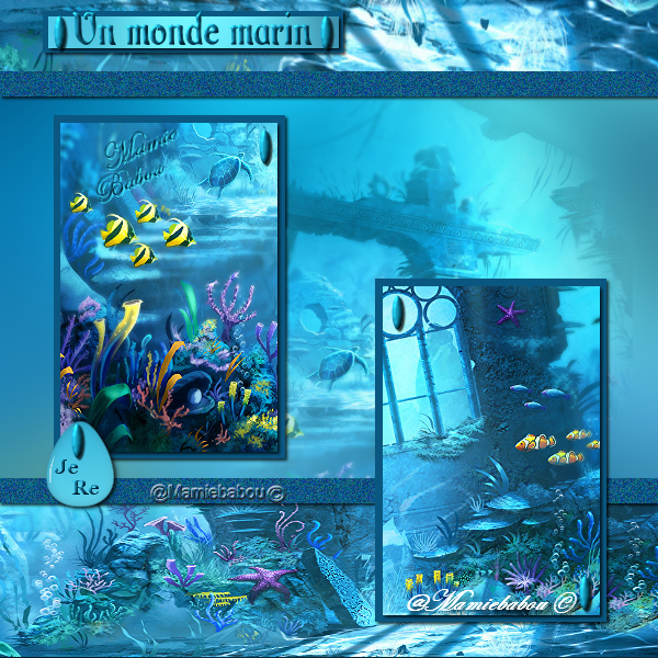 un monde marin