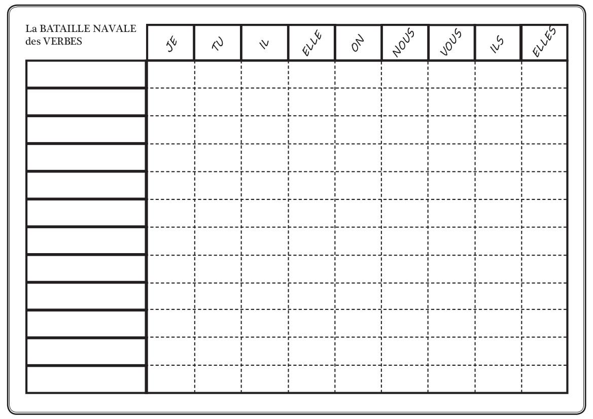 Je joue et je r vise - Table de multiplication vierge a imprimer ...