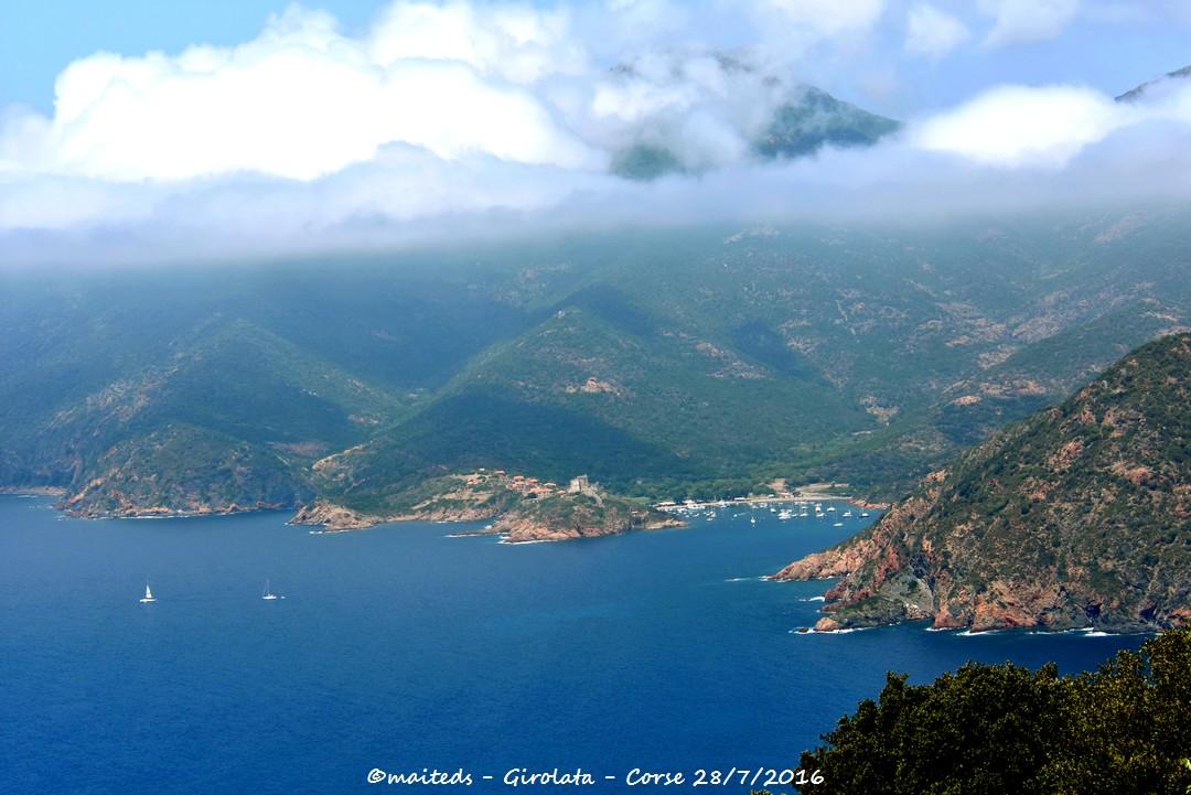 Zoom sur Girolata - Corse