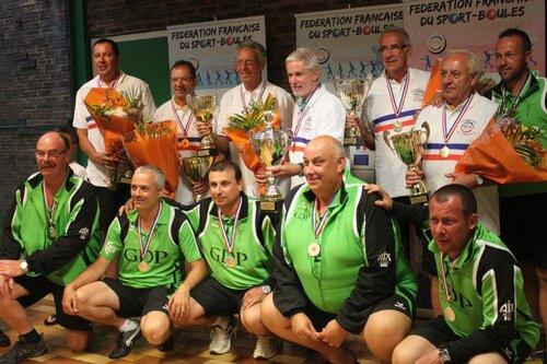 Vainqueurs et Finalistes Quadrette CHAMBERY 2014