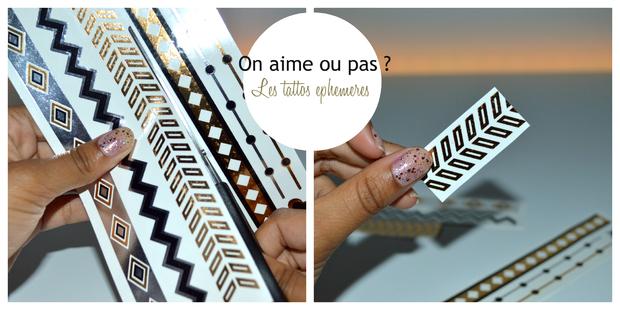 ❀ On Aime Ou Pas?〖1〗 - Les Tattos Ephemères.
