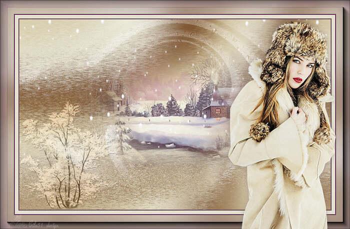 Mist paysage hiver 2