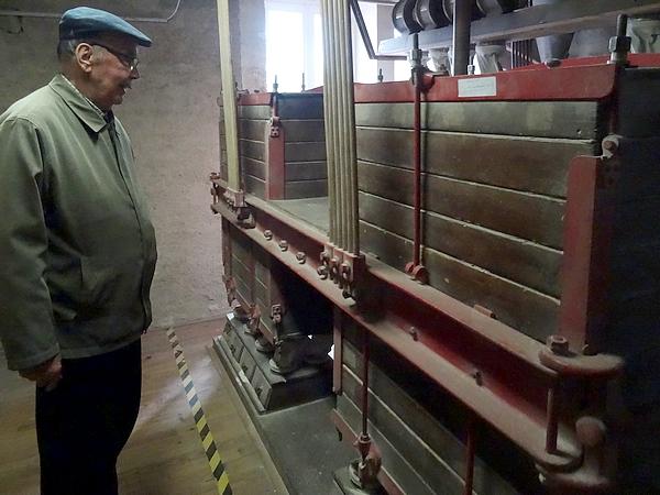 Visite du moulin du Foulon à Arnay sous Vitteaux....