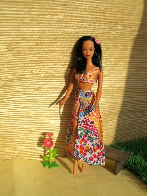 Barbie vintage : Barbie Hawaïenne 1975