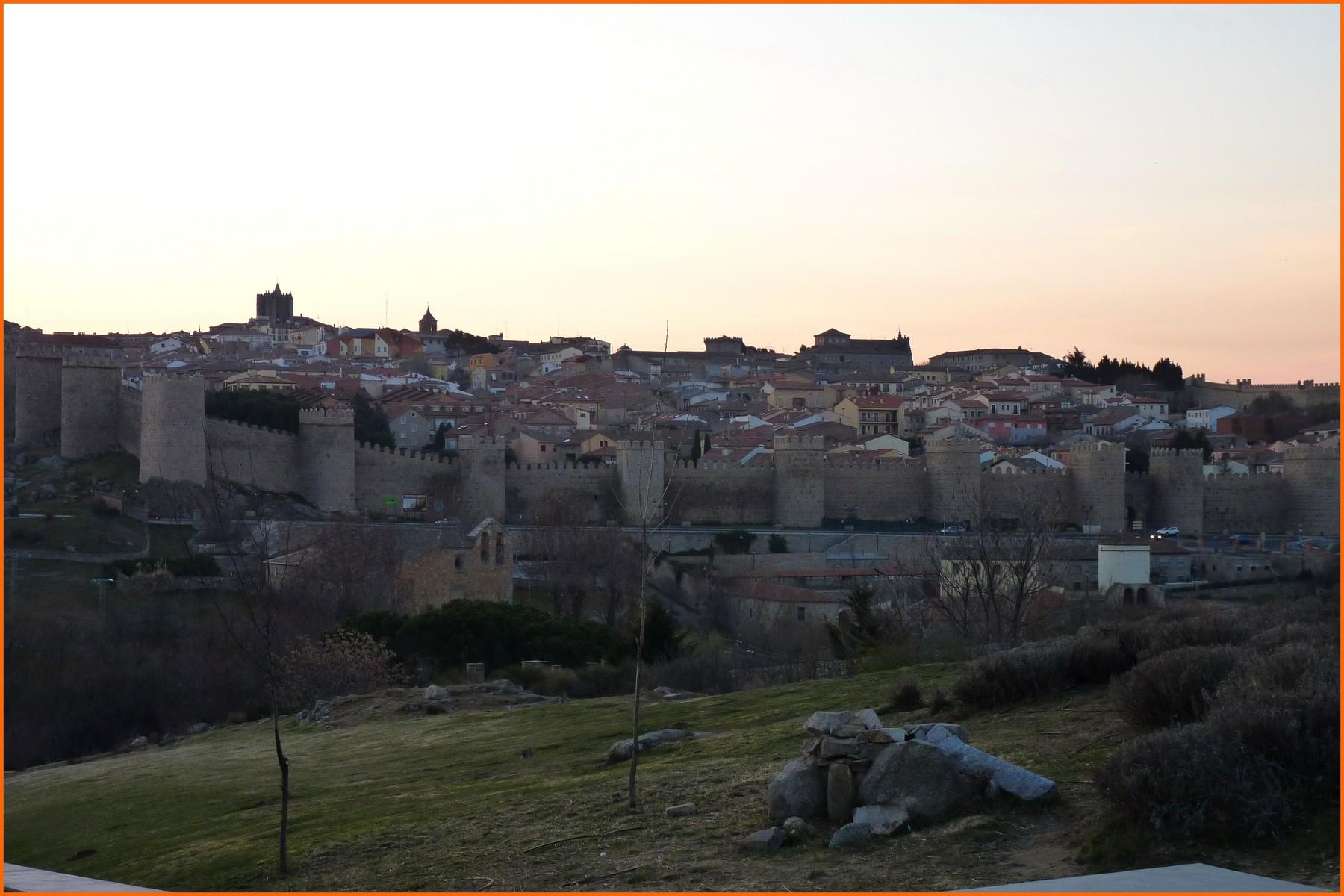 22° étape - Ávila au lever du jour