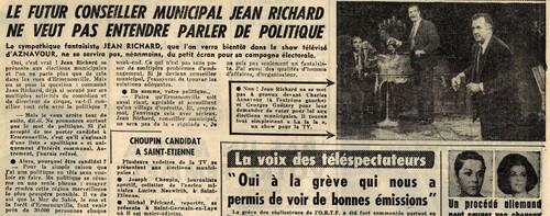 article paru dans PARIS JOUR n°1700 du 3 mars 1965