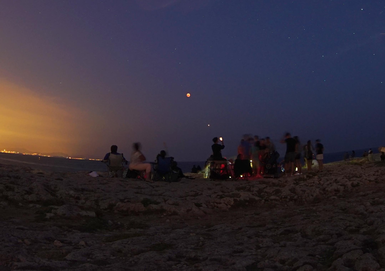 éclipse de Lune 27-07-2018