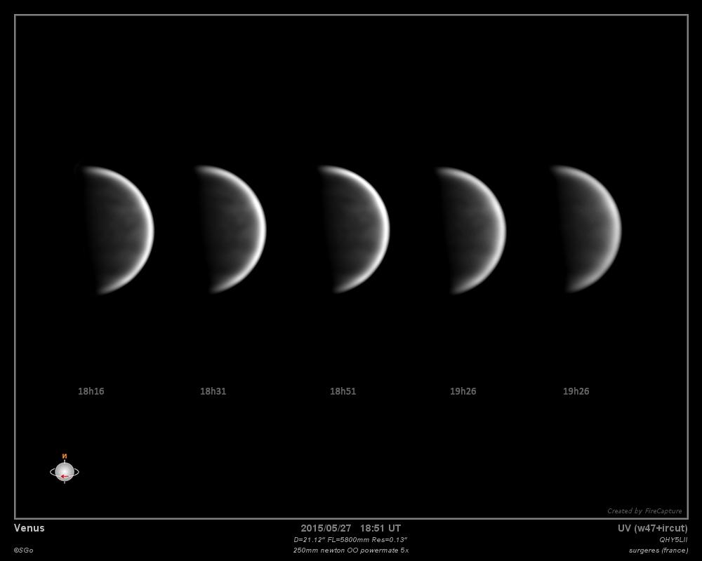 Vénus le 27 mai