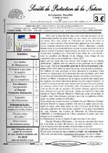 """Janvier / Mars 2015 - Le magazine """"Toutes saisons"""" et numéro spéciaux & Magazine S.P.N.G. (Société de Protection de la Nature du Gard)"""