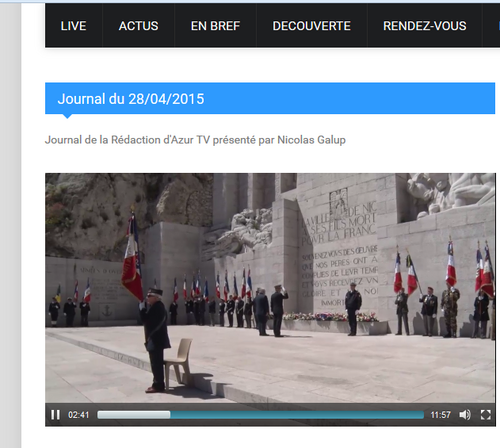 Revue de Presse / Web : commémoration des 70 ans de l'AUTHION