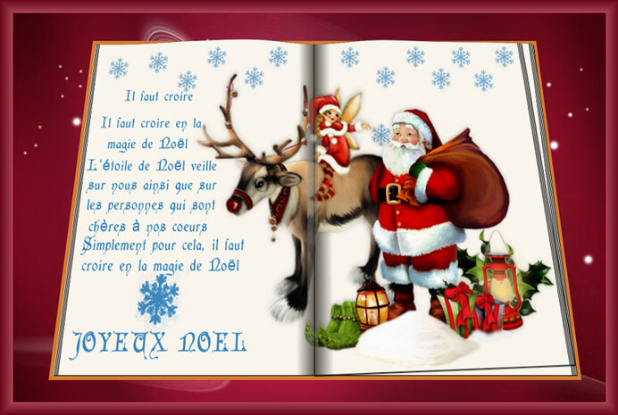 Le livre de la vie et Noël 2016