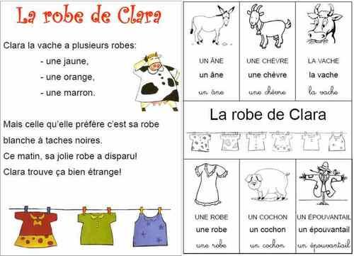 La robe de Clara