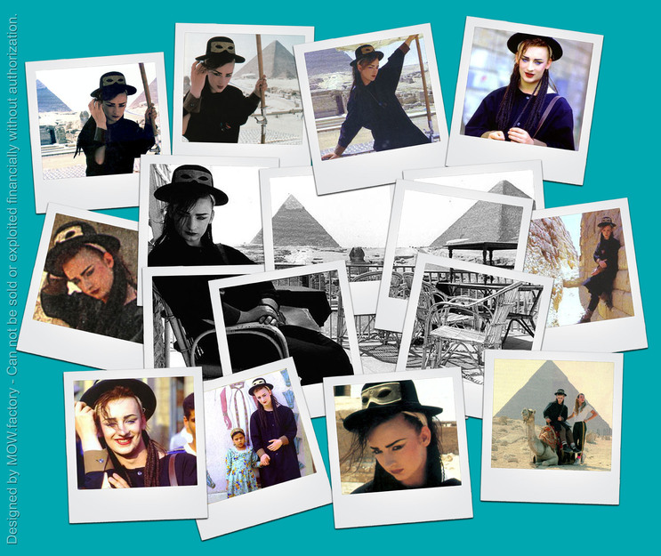 BOY GEORGE - 1983 - In Egypt By T@d