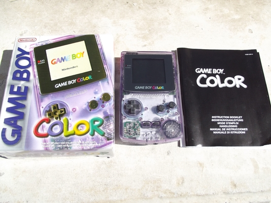0 Game boy color 1