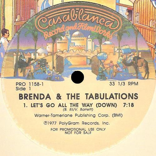 "Brenda & The Tabulations : Album "" I Keep Comming Back For More "" Chocolate City Records CCLP 2002 [ US ] en 1977"