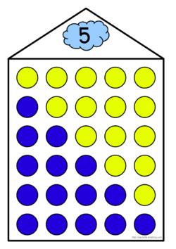 Les maisons du 3, du 4 et du 5