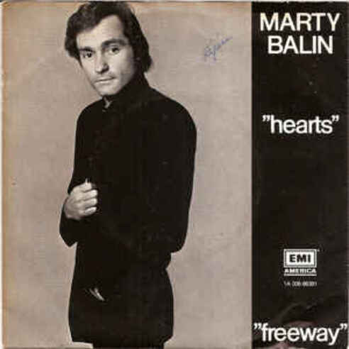 BALIN, Marty - Hearts (1981)  (Pop)
