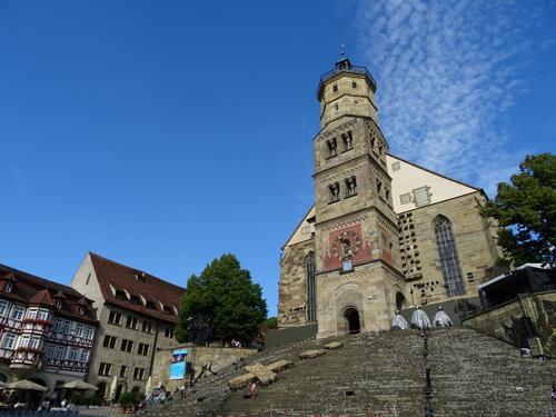 Eglise Zaint Miçel à Sçwabiçes Hall en Allemagne (photos)