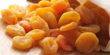 Abricot sec fer