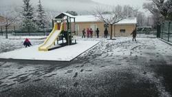 Il a neigé !