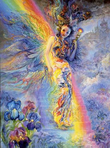 Découverte le 13 Aout 1847 , l'asteroide (7) Iris , du nom de la deesse de l'arc en ciel