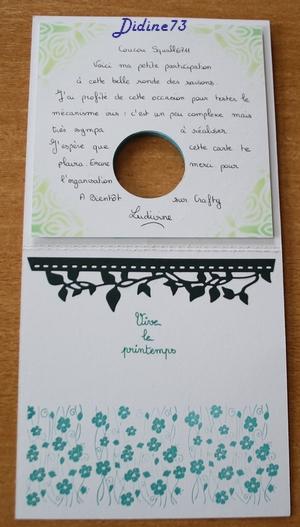 Ronde de cartes des saisons ... - le printemps -3