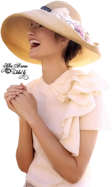 Tubes femmes chapeaux création 11
