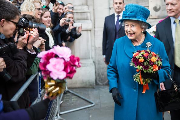 Elizabeth en visite
