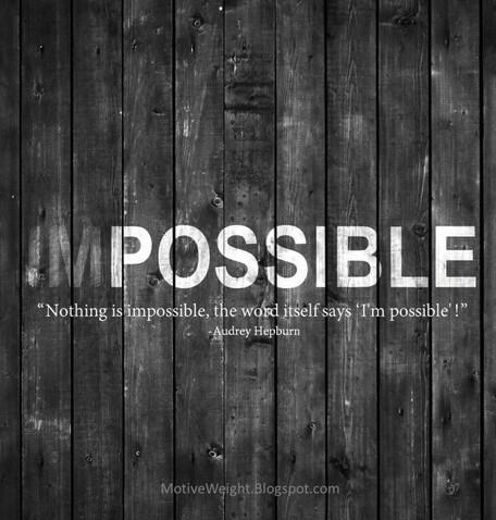 (IM)possibile (a volte però ci sono cose impossibili purtroppo)