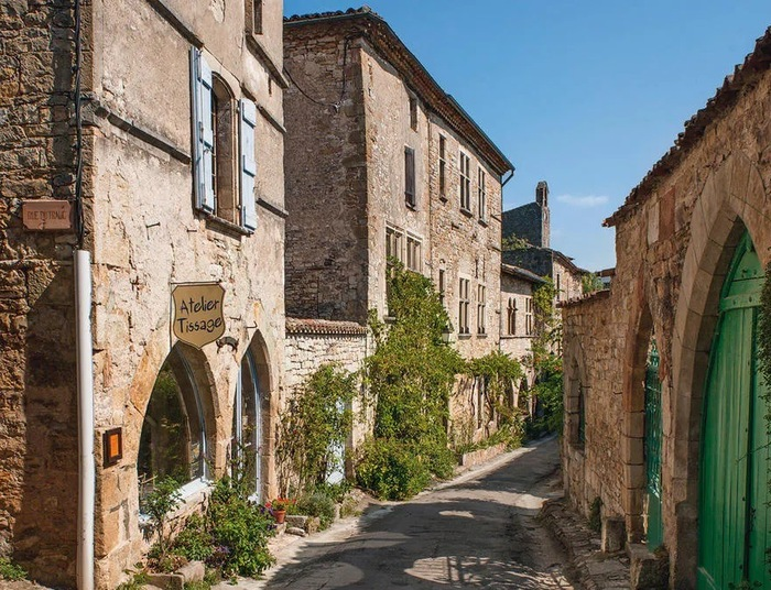 Vallée de l'Aveyron : riche territoire campagnard