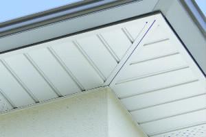 bardage dessous de toit PVC