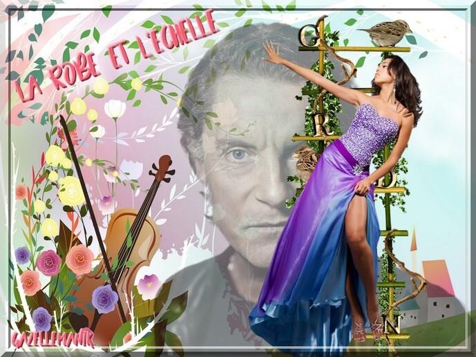 Défi pour mon amie Claudie la picarde ( Francis Cabrel) La robe et l'échelle