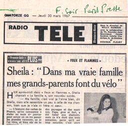 28 mars 1967 / FEUX ET FLAMMES - INTROUVABLE / MAJ 17/04