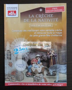 """Collection """" La crèche de la nativité """""""