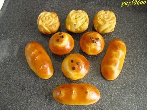 briochettes et petits pains
