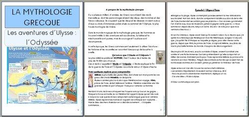 Littérature: Mythologie: Le voyage d'Ulysse