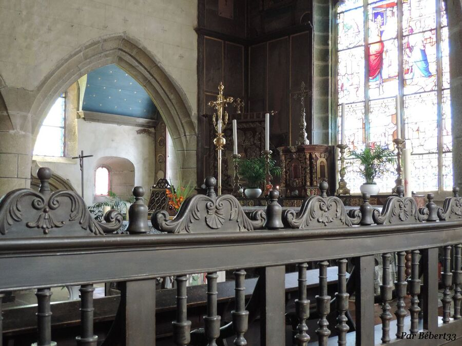 Goulven - Finistère Nord - l'église