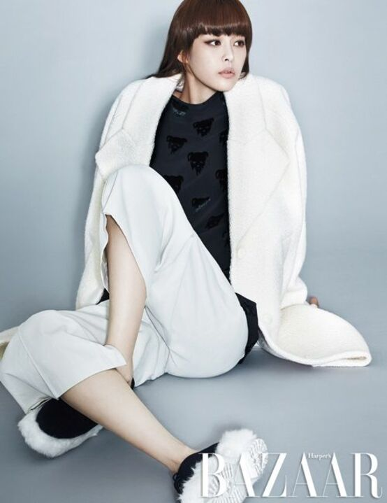 Lee Ha Na pour Bazaar