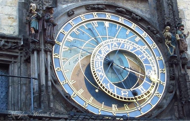 Prague : L'hôtel de ville et l'horloge astronomique