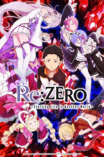 Fiche de l'animé Re:Zero kara Hajimeru Isekai Seikatsu (Vostfr)