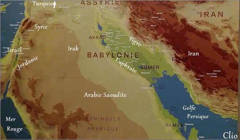 C'est où, la Mésopotamie ?