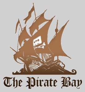Pirate bay boat logo